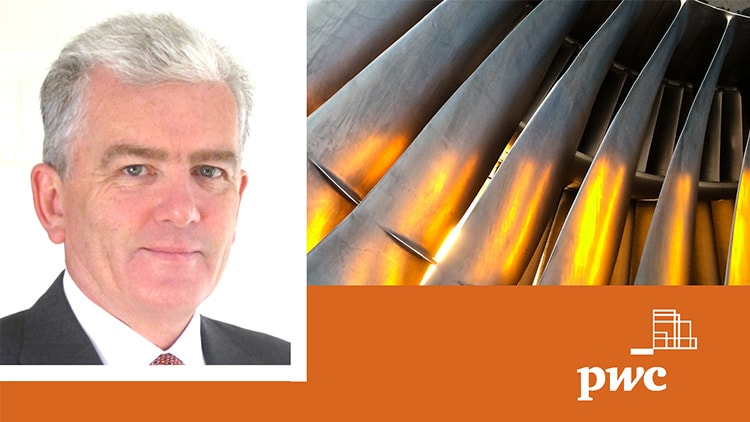 Colum Carr announced as new Aviation Finance Advisory Practice Leader at PwC Ireland.