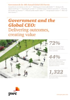 Government and 18th Annual Global CEO Survey: Delivering outcomes, creating value