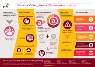 Directors Compliance Statement Infographic